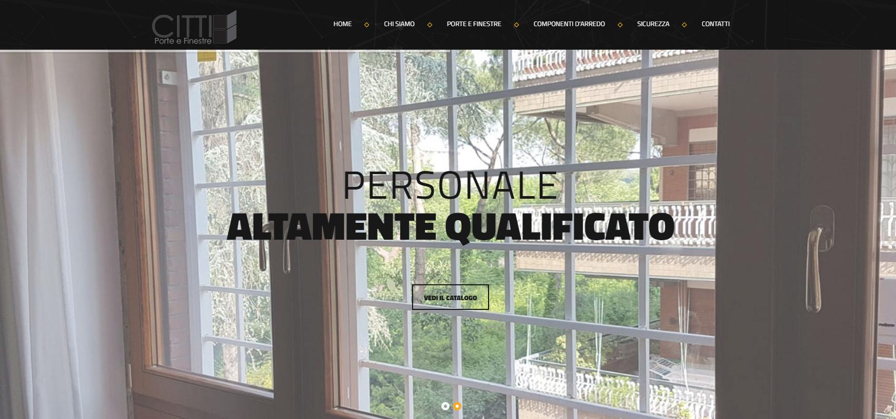 Citti serramenti porte e finestre ultimi progetti web - Serramenti e finestre ...