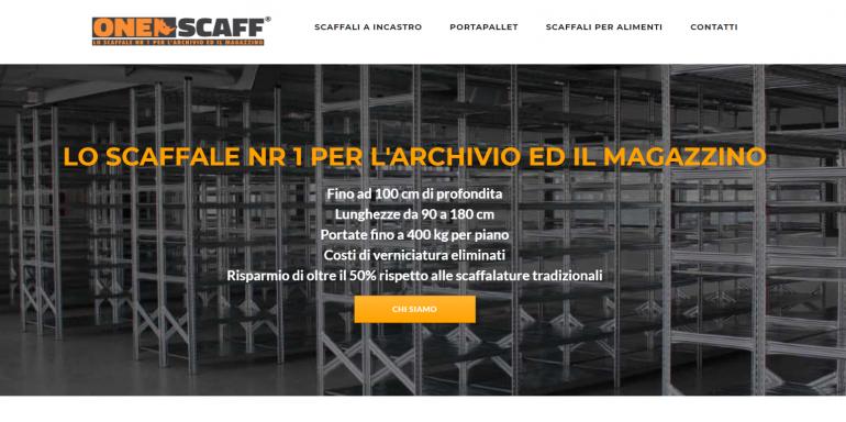 Scaffalature Metalliche A Roma.Realizzazione Sito Web Scaffalature Metalliche Ultimi Progetti