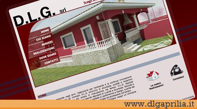 Realizzazione sito web dlg aprilia design sostenibilit for Sito web di progettazione edilizia